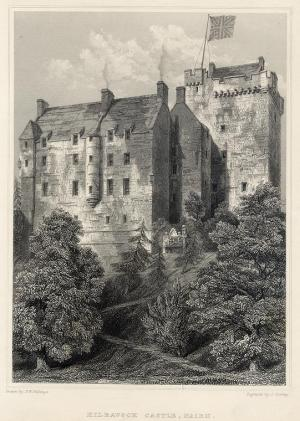 Kilravock Castle seat of Clan Rose, Croy, Scotland