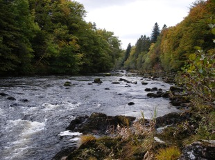 river in Scottish Highlands